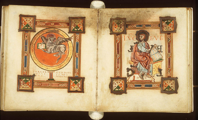 The symbol of the Evangelist St. Luke: the ox