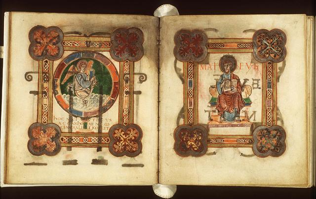 The symbol of the Evangelist St. Matthew: the angel