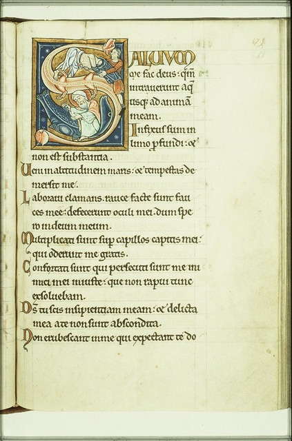 Jonah is disrobed; Jonah is cast up by the great fish