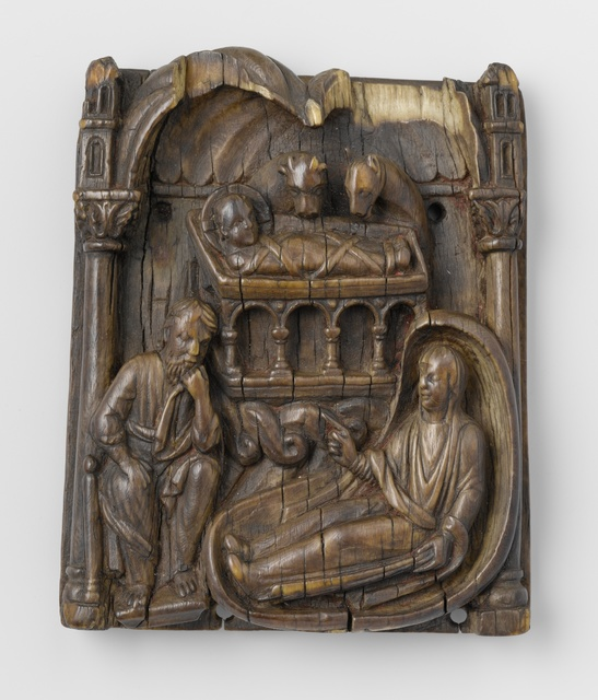 Relief with the Nativity