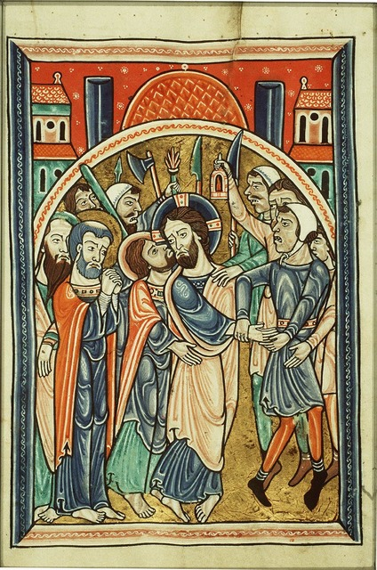 The arrest of Christ: the kiss of Judas