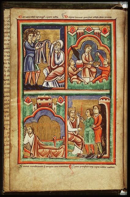 Joseph interprets the dreams of the Pharaoh