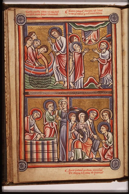 The miraculous draught of fishes: Christ appears at the Lake of Gennesaret