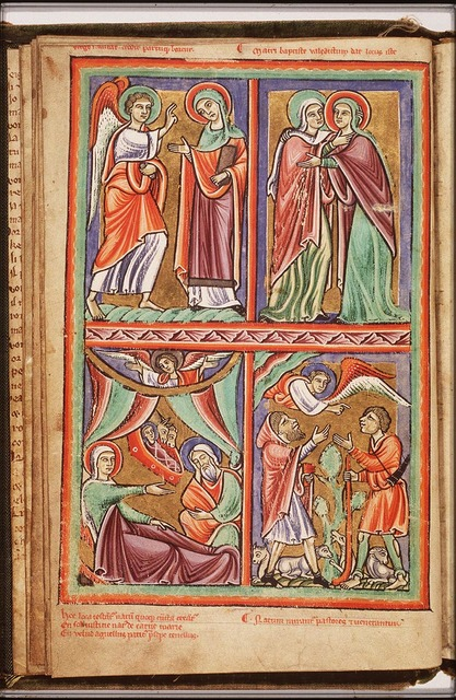 The Visitation: Mary meets St. Elisabeth