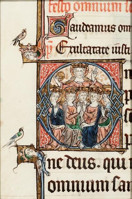Christ and saints (All Saints)