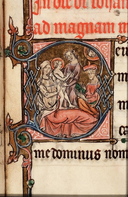 The birth of St. John the Baptist