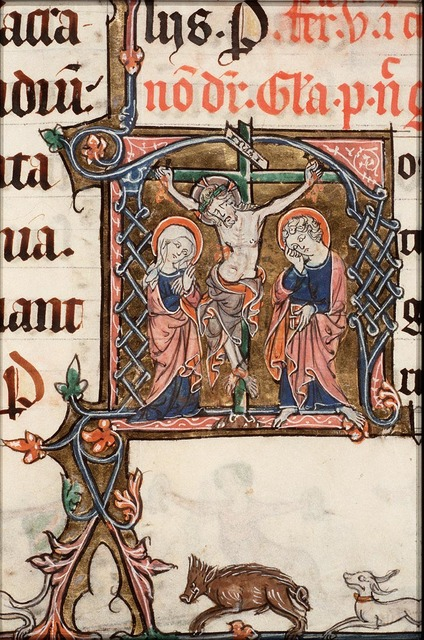The Crucifixion, with Mary and St. John