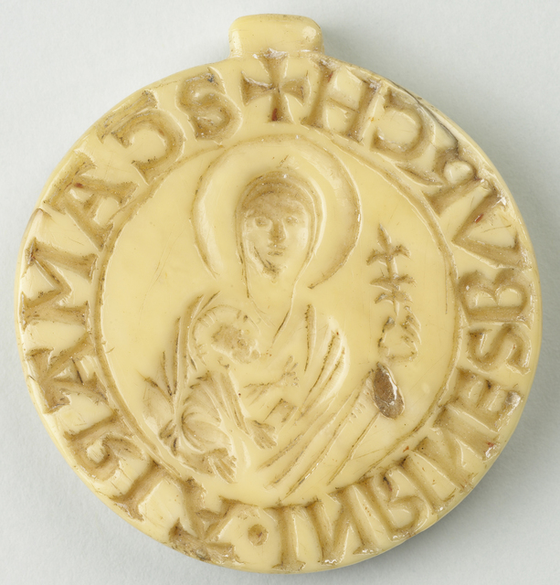 Convent seal of Rijnsburg Abbey