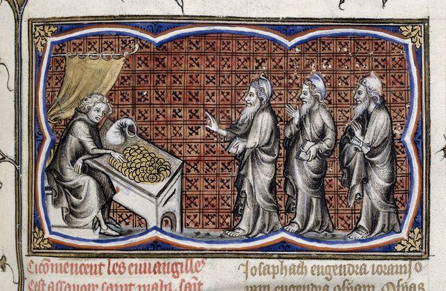 Matthew from BL Royal 17 E VII, f. 134