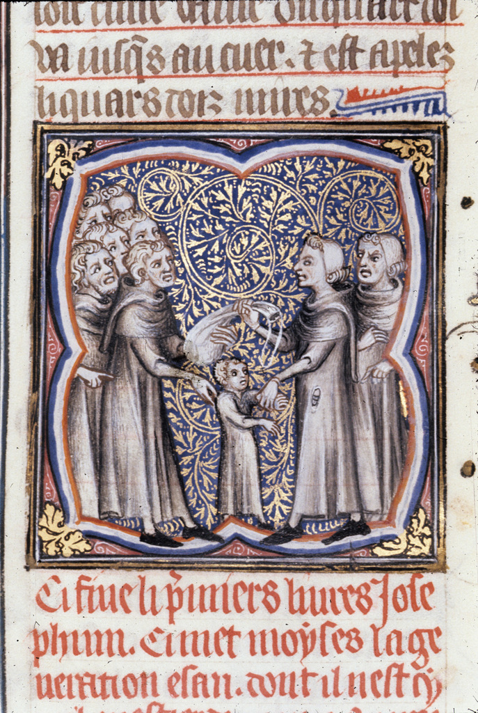 Sale of Joseph from BL Royal 17 E VII, f. 32