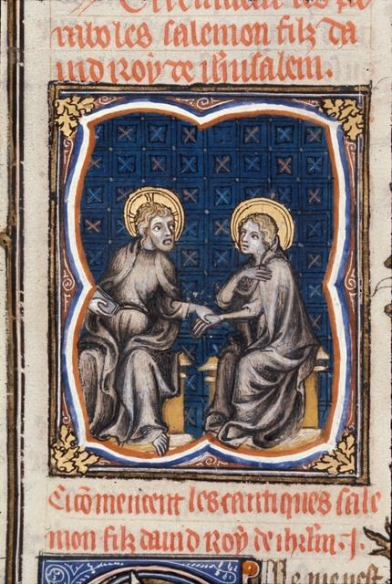 Solomon from BL Royal 17 E VII, f. 14v