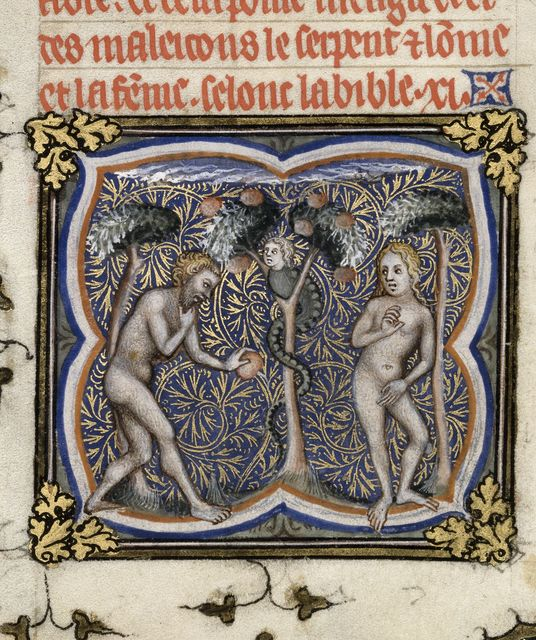 The Fall from BL Royal 17 E VII, f. 7v