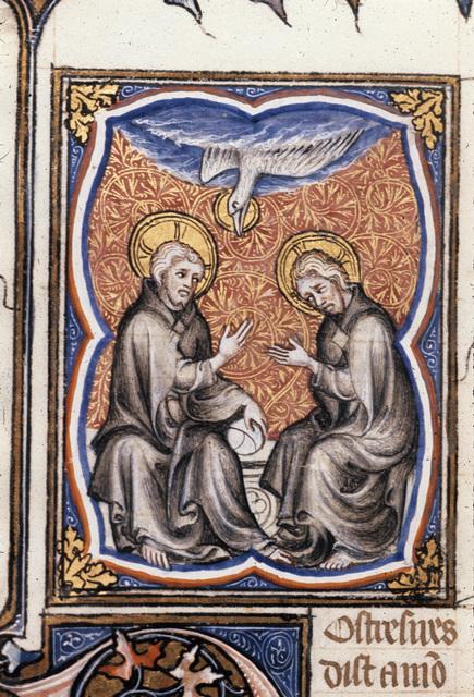 The Trinity from BL Royal 17 E VII, f. 253v