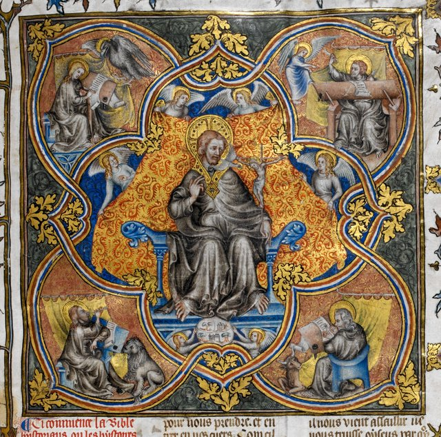 Trinity from BL Royal 17 E VII, f. 1