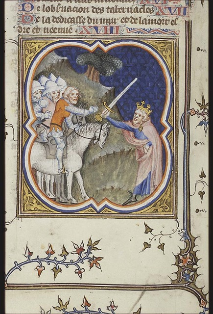 Nebuchadnezzar gives Holofernes the command of an army to fight the neigbouring states