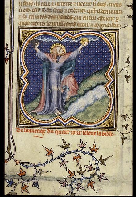 The Creation: sun, moon and stars