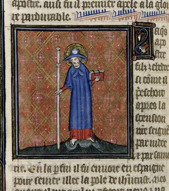 James from BL Royal 19 B XVII, f. 176v