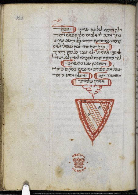 Coat of arms from BL Add 26968, f. 325