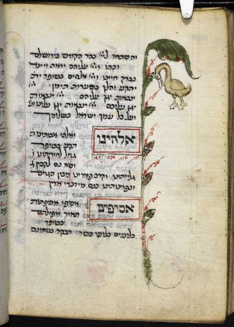 Duck from BL Add 26968, f. 249v