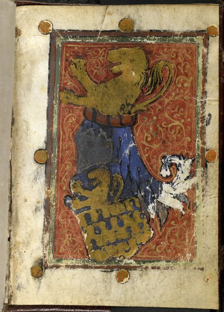Coat of arms from BL Or 2736, f. 2v