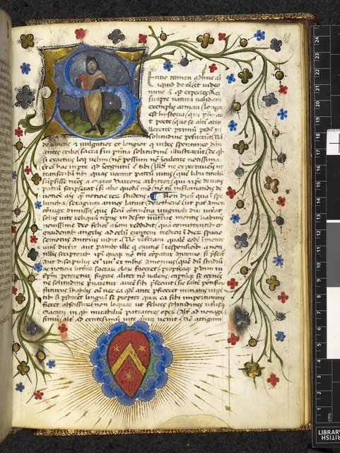 Petrarch from BL Harley 3454, f. 29