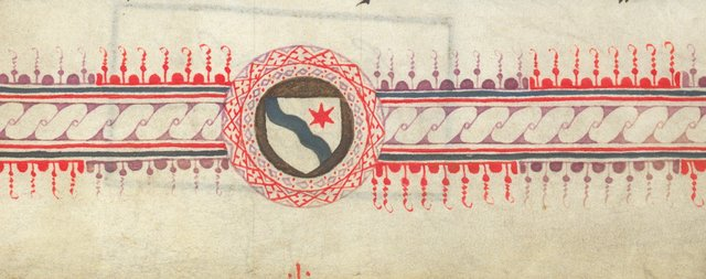 Detail: Border from BL Arundel 103, f. 4