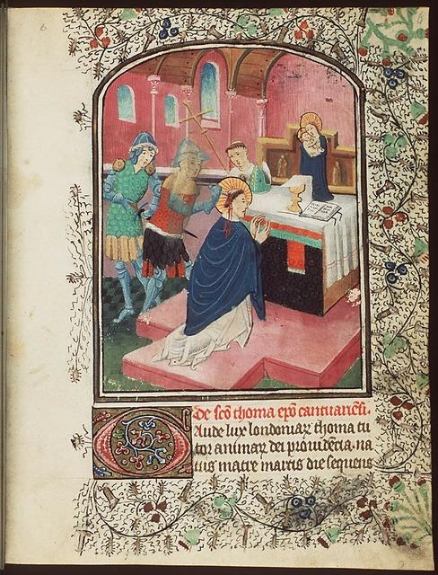 Martyrdom of St. Thomas of Canterbury