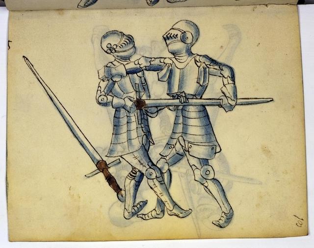 Cod. 11093, fol. 13r: Fecht - und Ringbuch