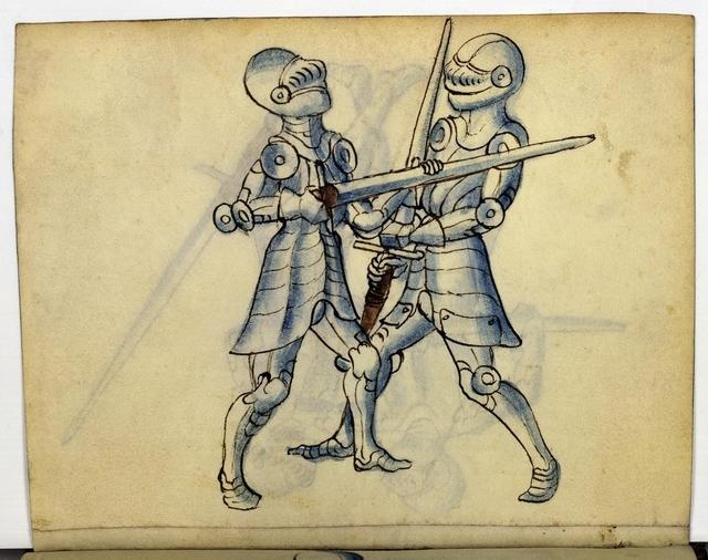 Cod. 11093, fol. 13v: Fecht - und Ringbuch