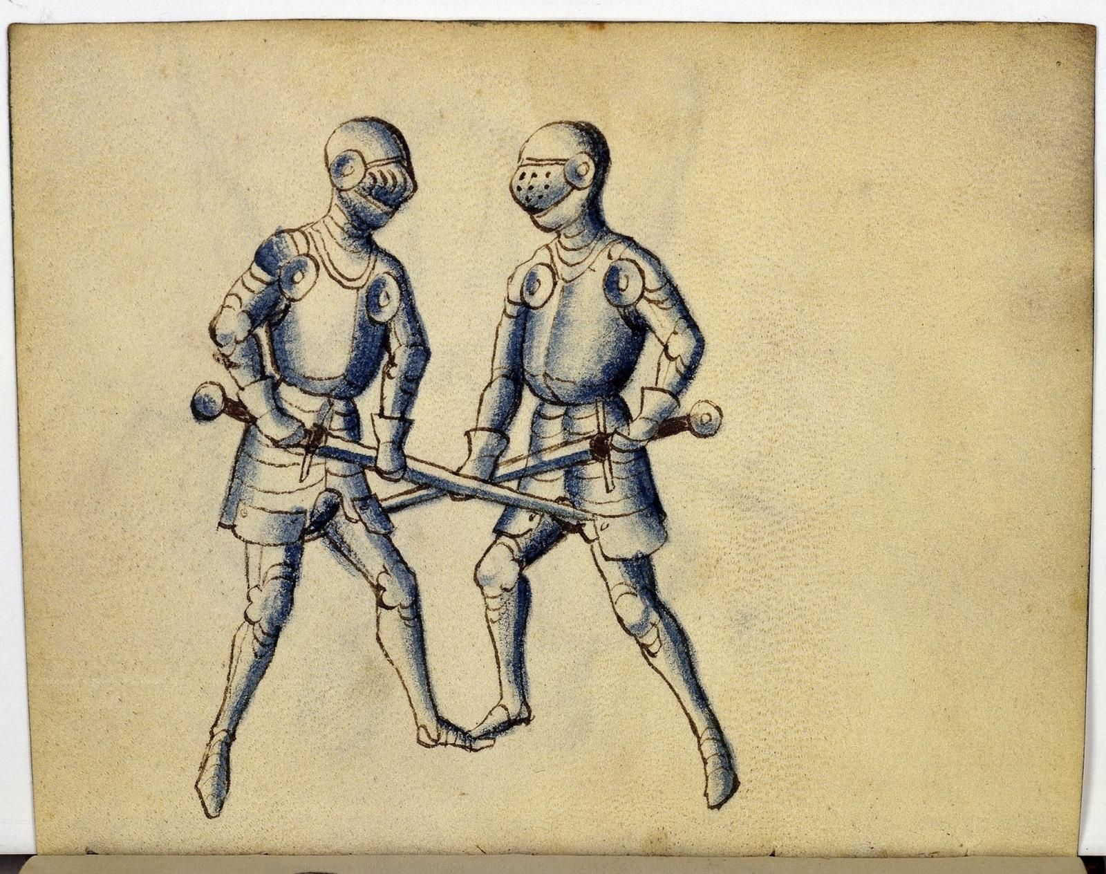 Cod. 11093, fol. 16v: Fecht - und Ringbuch
