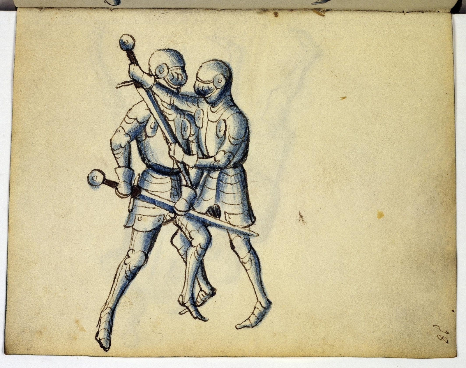 Cod. 11093, fol. 18r: Fecht - und Ringbuch