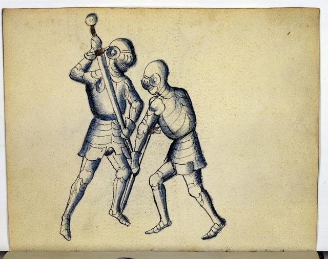Cod. 11093, fol. 18v: Fecht - und Ringbuch