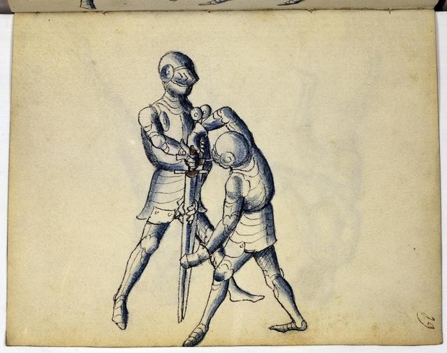 Cod. 11093, fol. 19r: Fecht - und Ringbuch