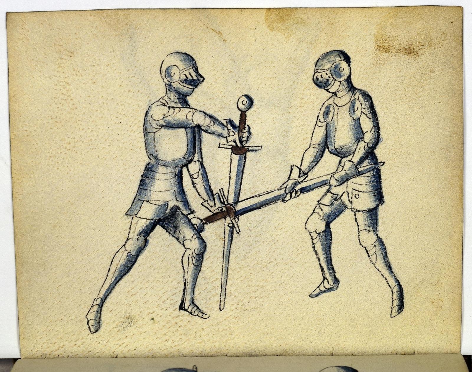 Cod. 11093, fol. 19v: Fecht - und Ringbuch