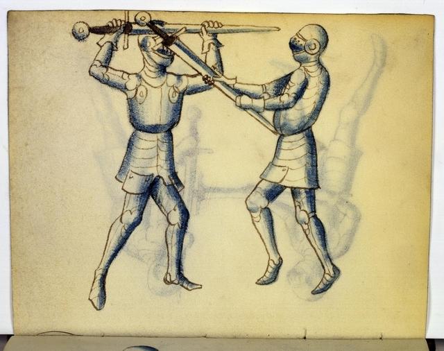 Cod. 11093, fol. 20v: Fecht - und Ringbuch
