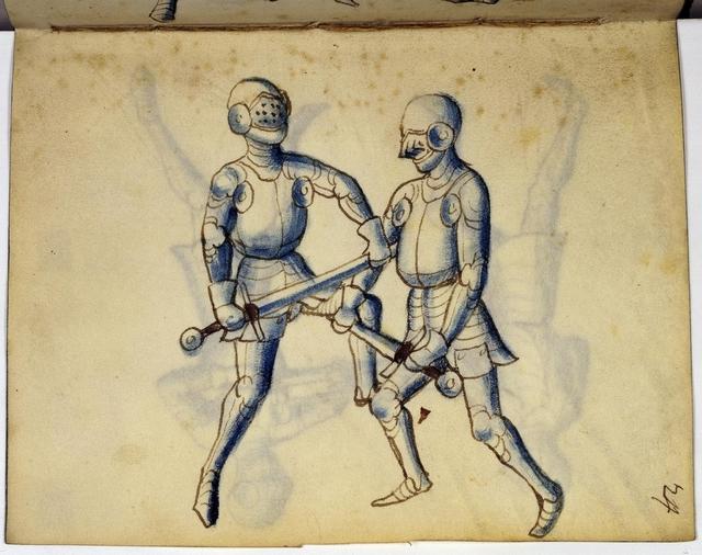 Cod. 11093, fol. 24r: Fecht - und Ringbuch