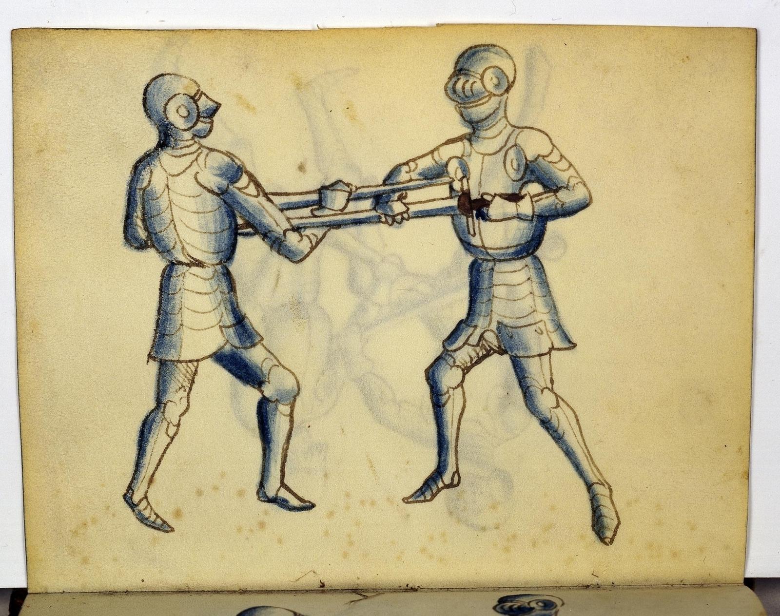 Cod. 11093, fol. 24v: Fecht - und Ringbuch