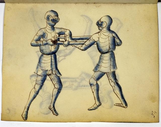 Cod. 11093, fol. 25r: Fecht - und Ringbuch