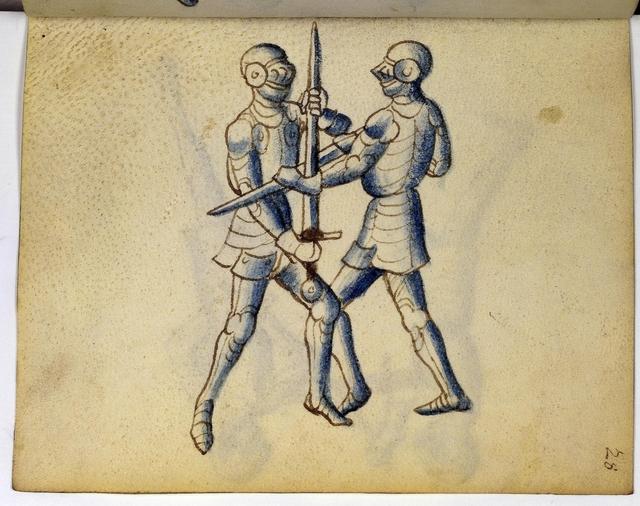 Cod. 11093, fol. 28r: Fecht - und Ringbuch