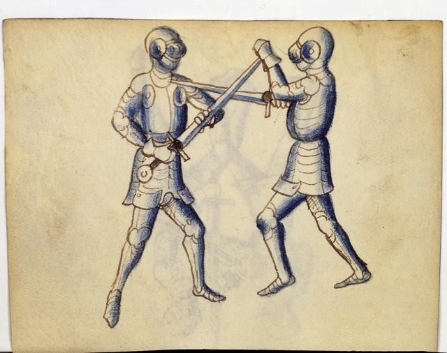 Cod. 11093, fol. 28v: Fecht - und Ringbuch