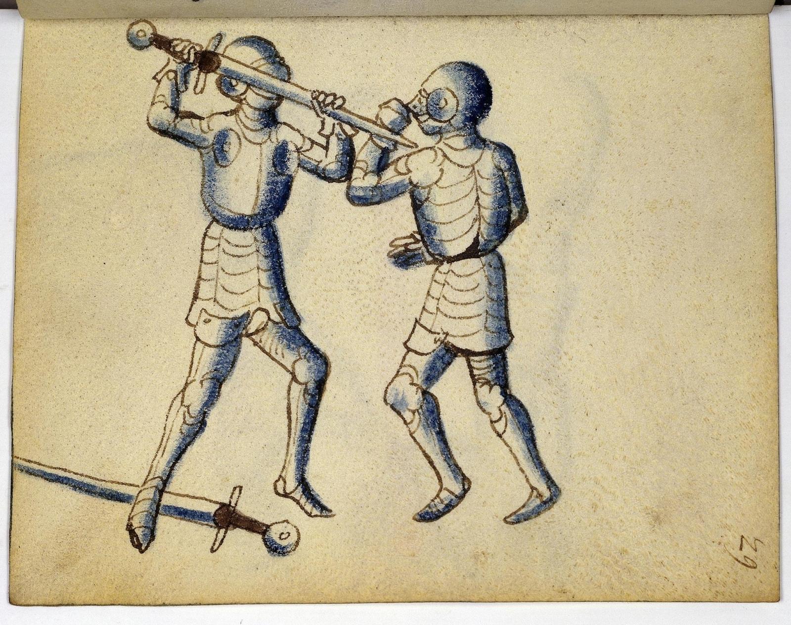 Cod. 11093, fol. 29r: Fecht - und Ringbuch