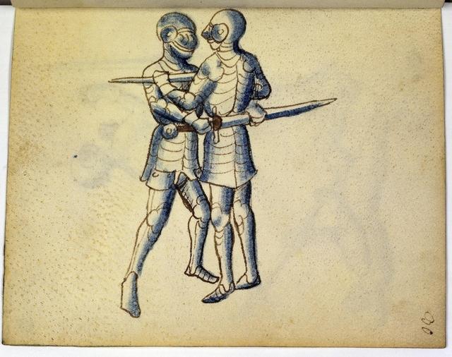 Cod. 11093, fol. 30r: Fecht - und Ringbuch