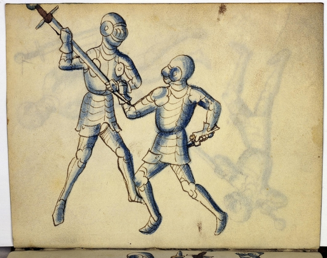 Cod. 11093, fol. 31v: Fecht - und Ringbuch