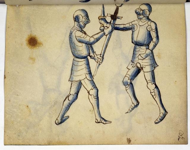 Cod. 11093, fol. 32r: Fecht - und Ringbuch