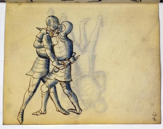Cod. 11093, fol. 34r: Fecht - und Ringbuch