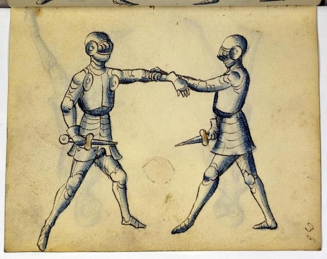 Cod. 11093, fol. 36r: Fecht - und Ringbuch