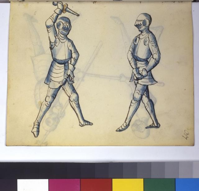 Cod. 11093, fol. 37r: Fecht - und Ringbuch