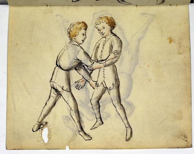 Cod. 11093, fol. 41r: Fecht - und Ringbuch