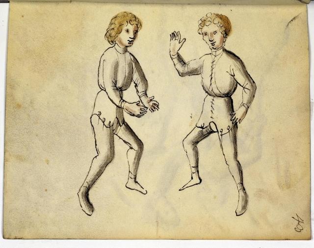 Cod. 11093, fol. 43r: Fecht - und Ringbuch