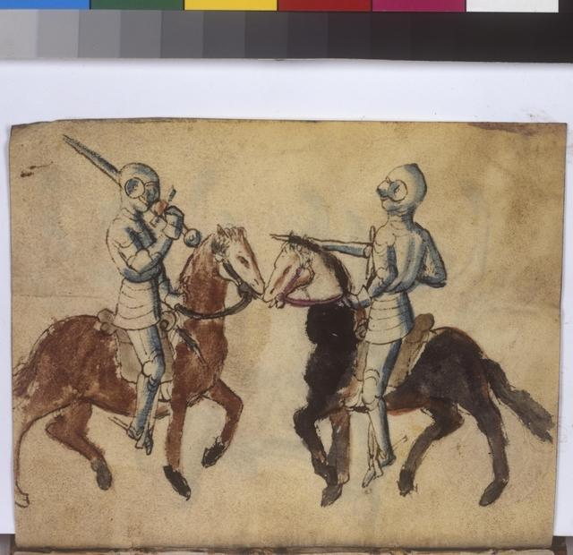 Cod. 11093, fol. 46r: Fecht - und Ringbuch